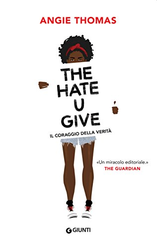 Book cover for The Hate U Give by Angie Thomas