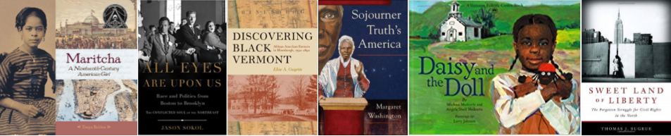 Covers of 6 Books in the African-American History Month Display
